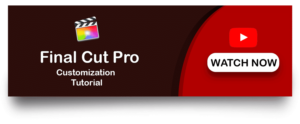 Watch Final Cut Pro Customisation Tutorial social media lower thirds